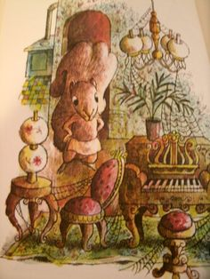 Miss Suzy Miriam Young Illustrated by Arnold Lobel Squirrel illustration  LoveVintageAlways