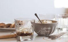 Tiramisu bez vajec a cukru Tiramisu, Ale, Pudding, Tableware, Desserts, Food, Tailgate Desserts, Dinnerware, Deserts