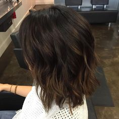 """Rich hazelnut hues for fall.  #paulmitchell #paulmitchellcolor #hazelnut #fallhair #fallhaircolor #fallhairdontcare #studiobe #studiobesalon #fortcollins…"""