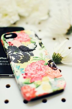 Tech accessories  MICHELLA watercolor floral by khristianahowell, $39.99