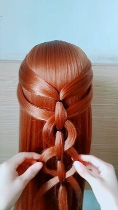 Easy Hairstyles For Long Hair, Headband Hairstyles, Cute Hairstyles, Braided Hairstyles, Wedding Hairstyles, Hidden Hair Color, Hair Express, Long Hair Video, Hair Videos