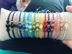 Bangles, Beaded Bracelets, Jewelry, Fashion, Tejidos, Wristlets, Bracelets, Moda, Jewlery