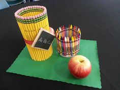 Back to School Teacher Luncheon Table Decorations