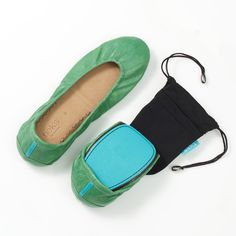 Looking for comfy, easy to transport #travel shoes? Look no further, #Tieks are our favorite.