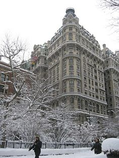 NYC - the Ansonia on the Upper West Side of Manhattan. One of my favorite buildings!