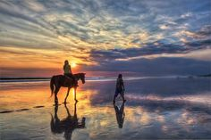 """Photo by Jimmy McIntyre. Girl riding a horse at sunset on Bali.  New BN Photo Competition is now open for entries! This week's theme is """"Beautiful Getaways."""" Enter your photos here"""