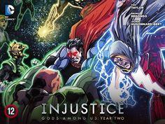 Injustice: Gods Among Us - Year 2 #12  #batman #superman #batmanvssuperman #madefire #motionbooks