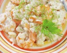 Risotto léger aux crevettes, lait de coco et citron vert : Savoureuse et équilibrée | Fourchette & Bikini