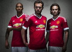 Manchester United Reveal 2015/16 adidas Home Kit