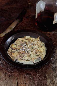 Mi Gran Diversión: Setas con crema de Coñac Tapas, Dessert, Vegan, Food To Make, Stuffed Mushrooms, Pork, Pasta, Baking, Vegetables