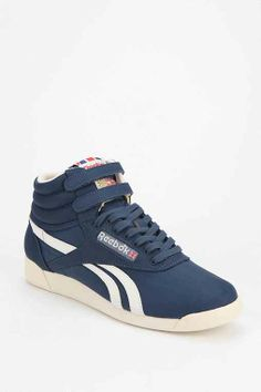 Reebok Freestyle Vintage High-Top Sneaker - Urban Outfitters Cheap Sneakers afc2823e1