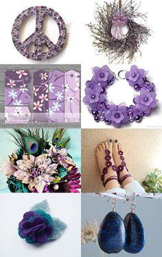 --Pinned with TreasuryPin.com Hanukkah, Wreaths, Purple, Etsy, Inspiration, Jewelry, Home Decor, Biblical Inspiration, Door Wreaths