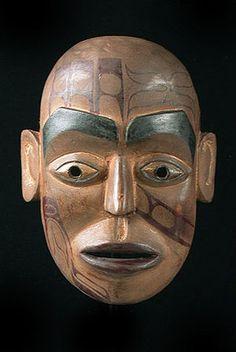 Haida Portrait Mask, British Columbia, Canada