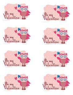 Valentine Owl #Valentine #Owl #pink #red #heart