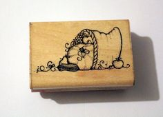1989 D.O.T.S. Plenty and Thankful J 130 Used Wood & Foam Backed Rubber Stamp #DOTS          http://HomeTownVintage.com/ Great Sale 50% off All Our Stamps!! Lots of Vintage Scrap Booking Stamps From PSX (Personal Stamp Exchange), Hero Arts, Fearless Designs, Stampin Up!, DOTS and many more  Also Find us on:  http://hometownvintage.com http://autopartspuller.com @HomeTownVintage @autopartspuller @preppershowto http://facebook.com/hometownvtg http://facebook.com/AutoPartsPuller