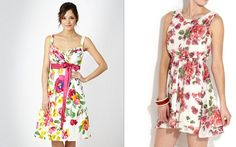 Spring/ Summer Fashion Trends 2012: Floral Print