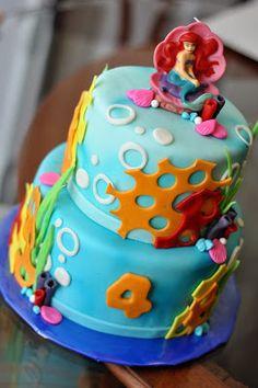Little Mermaid Cake-DoodlePie Cakes