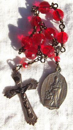 St. Nicholas Chaplet Christmas Rosary by VirgoPotensRosaries
