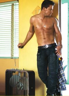 Channing Tatum. . . This Site Posts Daily Pictures Of Good Looking, Shirtless Men. You're Welcome Ladies