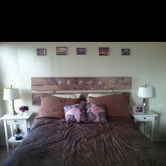Homemade headboard & 91 best Homemade headboards images on Pinterest | Bedroom decor ...