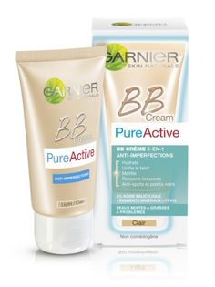 Garnier - Pure Active - BB Crème Claire - 5-en-1 anti-imperfections