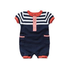 Cotton baby romper with print dave bella kids clothes baby clothes