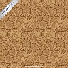 Teste padrão de madeira Vetor grátis