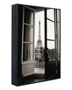 """Spotted this """"Eiffel Tower Through French Doors"""" by Christian Peacock on Rue La La. Shop (quickly!)."""