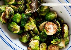 Brussels Sprouts with Maple Syrup  ... May be made with rosemary instead of sage though.