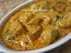 Al Yakhni - A curd based bottlegourd curry from the state of kashmir