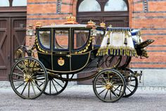 Stockholm. Carriage. Beautiful!