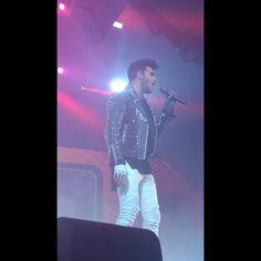 10/10/15 Adam Lambert performing at 538 LiveXXL in Amsterdam