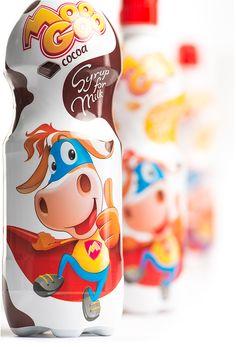 Moo Goo Syrups by Backbone Branding, via Behance