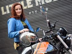 """Kate Zrim, """"Moto Femmes"""" motorcycle gear and accessories"""