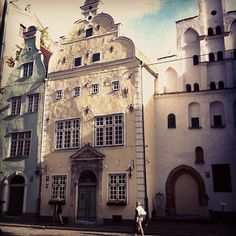 Old town of Riga.