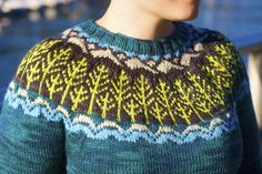 North Shore by Alexa Ludeman and Emily Wessel. Published in Pacific Knits. tincanknits.com
