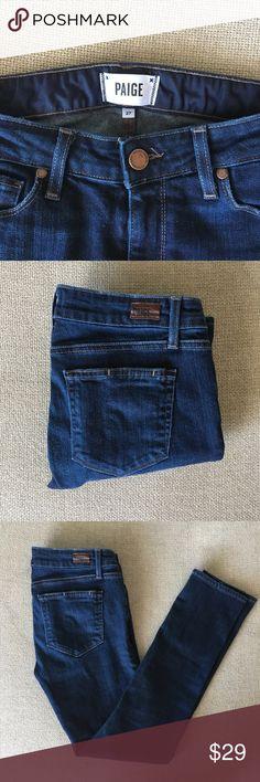 Selling this paige skinny jeans on Poshmark! My username is: rachelflawrence. #shopmycloset #poshmark #fashion #shopping #style #forsale #PAIGE #Denim