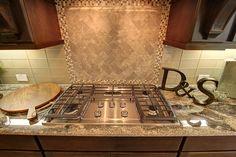 Kitchen - five burner stovetop