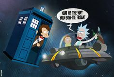 Rick and Morty Meet The Doctor - Tom Trager