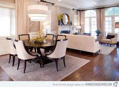 15 Stunning Round Dining Room Tables Home Design Lover