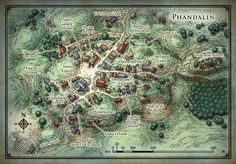 Village map (Phandalin)