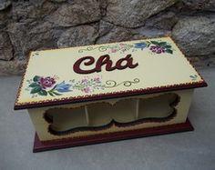 Caixa de Chá / CC-12 vendida
