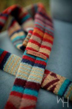 Pendleton Serape blanket weight tie, whitehorsetradingco.etsy.com, $125