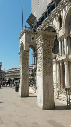a particular of the #Saint Mark's #Basilica in Saint Mark's Square, #Venice, #Italy