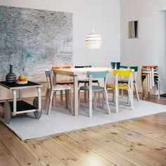 Bentwood Furniture (including the small tripod Stool 60) designed by Alvar Aalto in 1935 for his Scandinavian design company, Artek