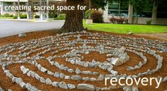 Labyrinth Garden Ideas | Bellingham WA — Labyrinth Creation — Landscaping — Portable ...