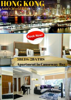 Welcome to our marvelous iLoveit apartment with stunning open views in Causeway Bay, Hong Kong