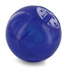 PetSafe SlimCat Food Distributor Ball  Blue: http://www.amazon.com/PetSafe-SlimCat-Food-Distributor-Ball/dp/B0018CG40O/?tag=httpbetteraff-20