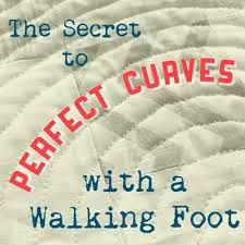 Image result for quilting with walking foot
