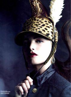 Luxure Magazine - Military Fashion Shoot